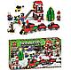 Конструктор Minecraft Новогодний поезд экспресс Майнкрафт 335 Lego, фото 5