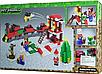 Конструктор Minecraft Новогодний поезд экспресс Майнкрафт 335 Lego, фото 4