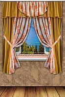 """Комплект штор """"Блюз"""", цвет в ассортименте, фото 1"""