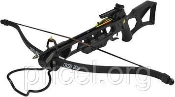 Арбалет Man Kung MK-XB23BK, Рекурсивний, гвинтівкового типу, пластик. приклад ц:чорний (MK-XB23BK)