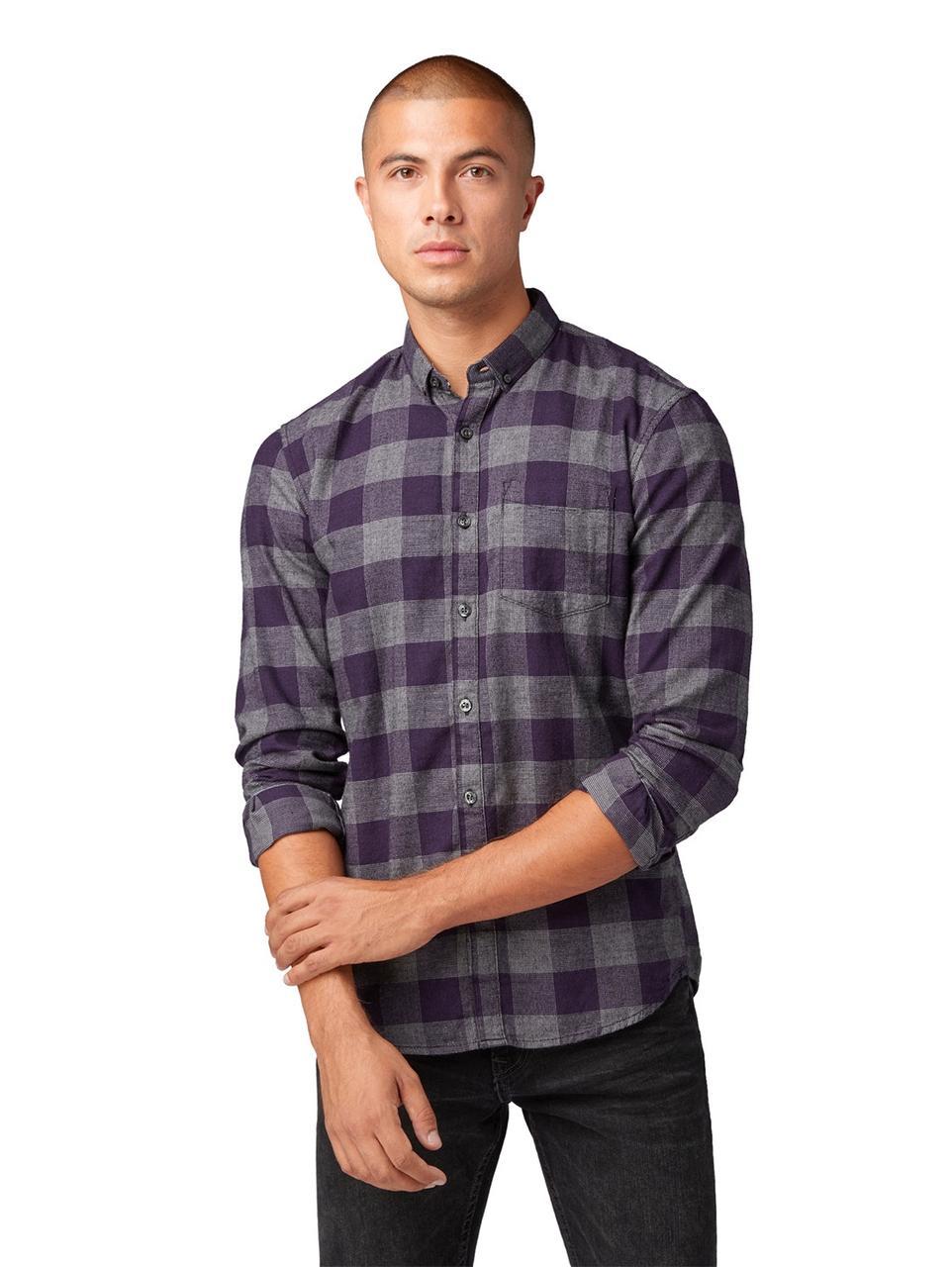 Рубашка Tom Tailor 1007068 XXL Фиолетовый