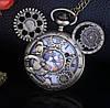 Мужские часы карманные Микки Маус на цепочке отличный подарок, фото 5