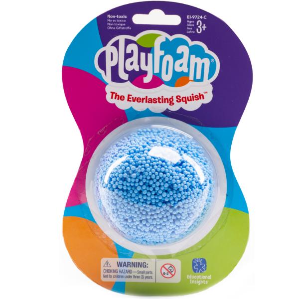 Playfoam Кульковий пластилін класичний синій classic