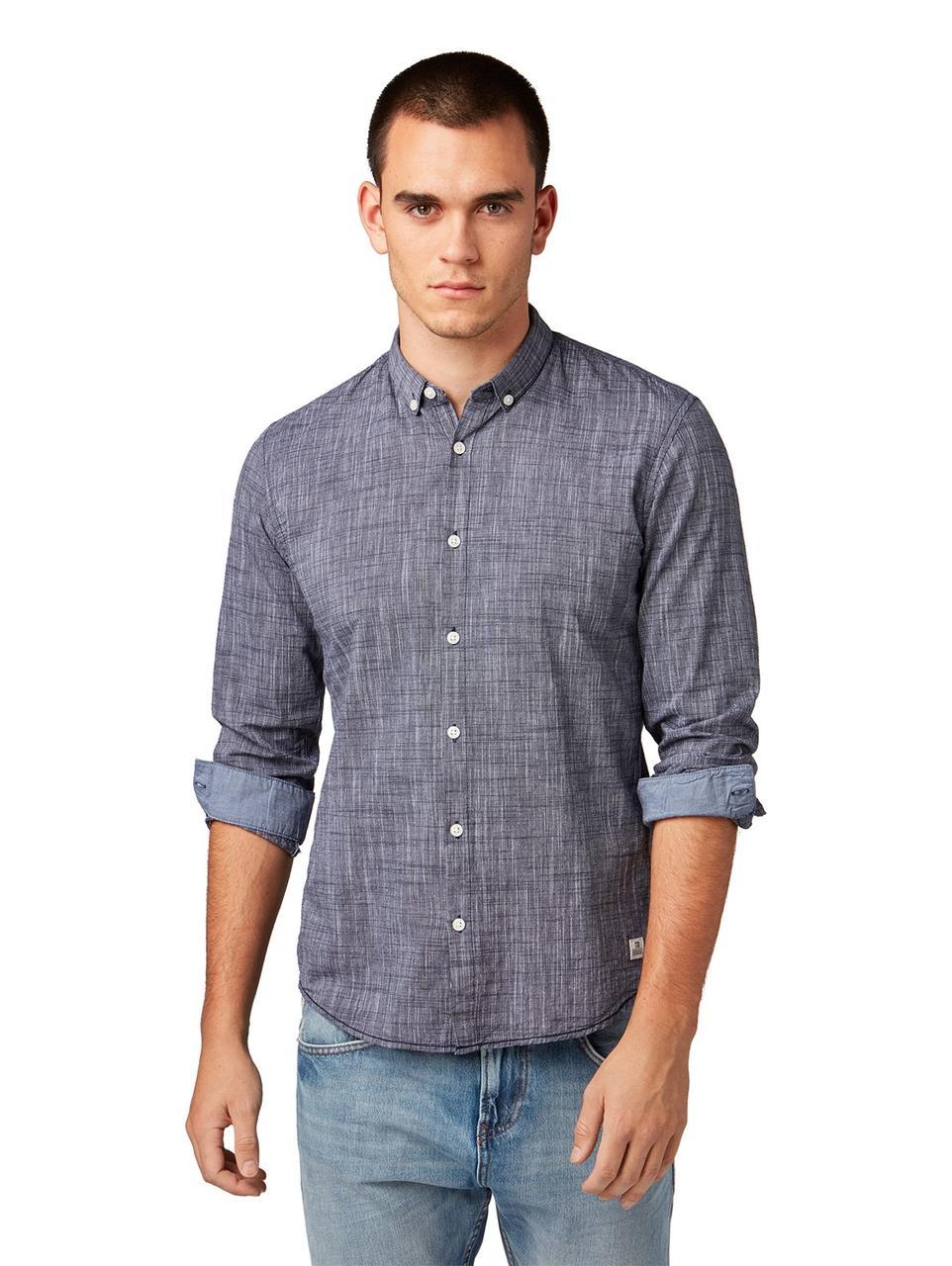 Рубашка Tom Tailor 1008086 L Серый
