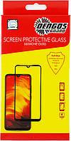Защитное стекло Dengos для Vivo Y15 Black Full Glue (TGFG-139)