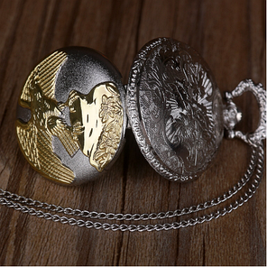 Часы карманные с орлом, фото 2