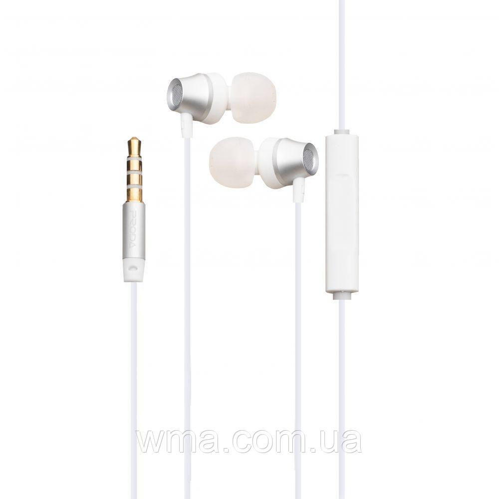 Проводные наушники для телефона Remax Proda PD-E300 Цвет Белый