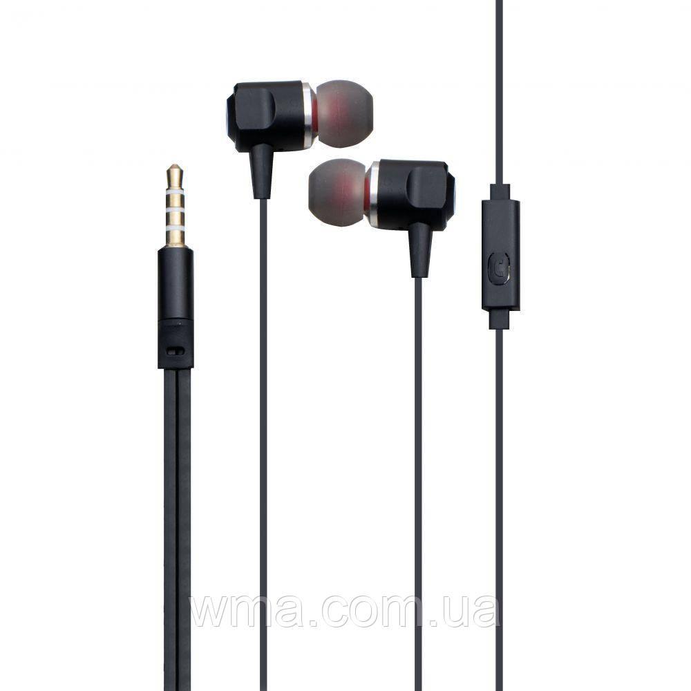 Проводные наушники для телефона Inkax H31 Цвет Чёрный