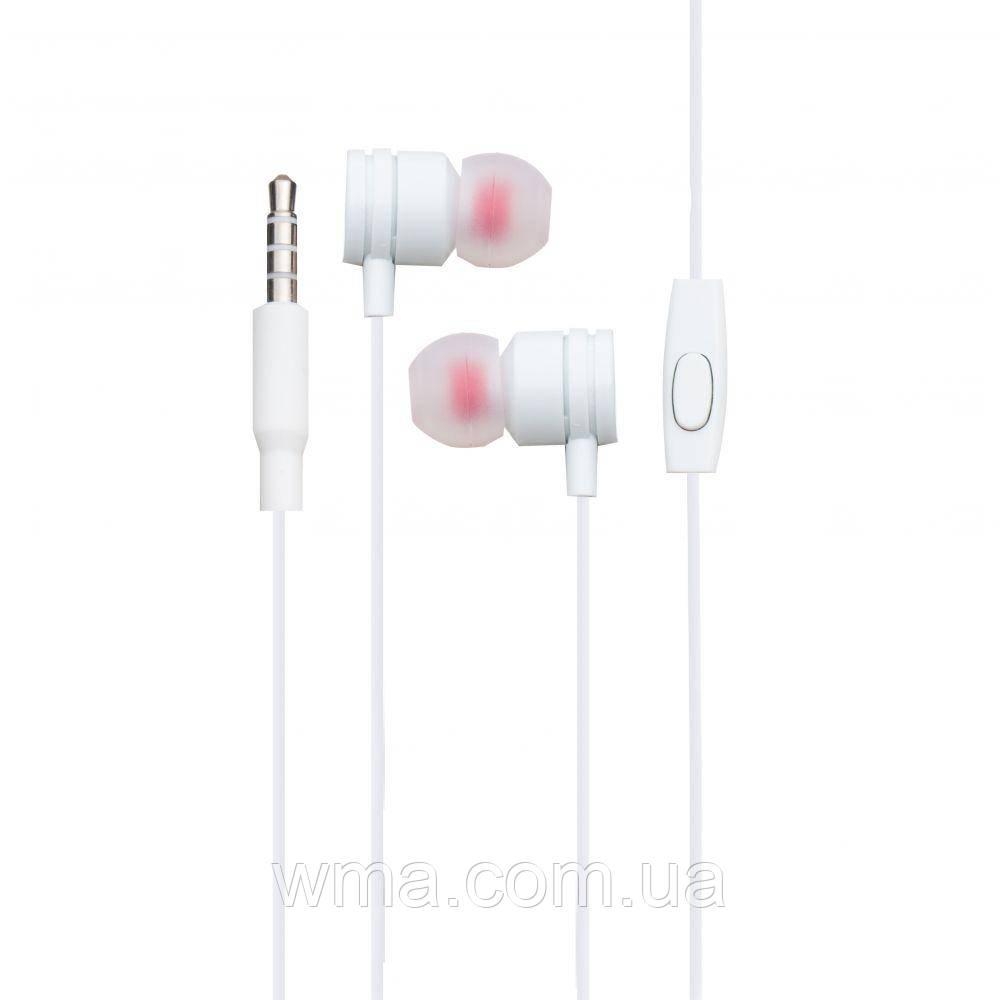 Проводные наушники для телефона Inkax EP-04 Цвет Белый