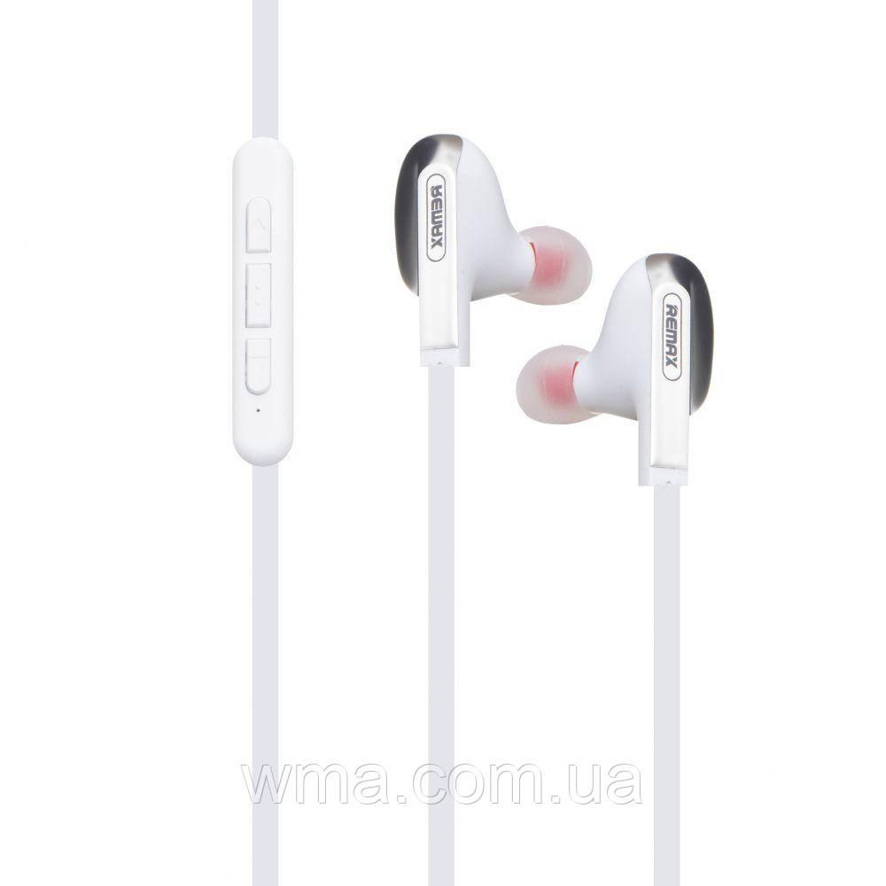 Наушники беспроводные (Bluetooth гарнитура) Remax RB-S18 Цвет Белый