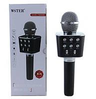 Мікрофон караоке для дітей Wster WS-1688 Black КОД: 1563225