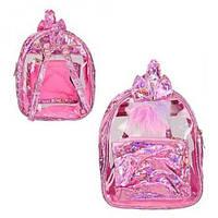 """Рюкзак """"Кролик"""" розовый, рюкзак,сумки,городской рюкзак,рюкзаки школьные"""