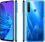 Смартфон realme 5 3/64Gb (Crystal Blue), фото 2