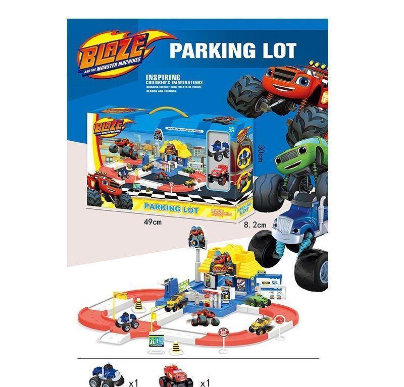 """Гараж Parking Lot """"BLAZE"""" Вспыш в коробке 553-395 A"""