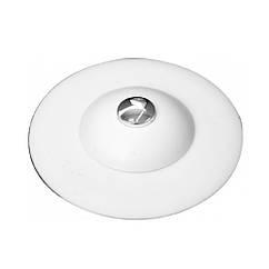 Пробка(Затычка)Заглушка D=100 мм Силиконовая Для Ванны(Мойки)Раковины Белая FALA 74781
