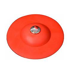 Пробка(Затычка)Заглушка D=100 мм Силиконовая Для Ванны(Мойки)Раковины Красная FALA 74782