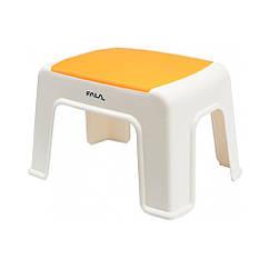 Табурет Пластиковый(30х20х21см)с Оранжевой Плоскостью FALA 75916