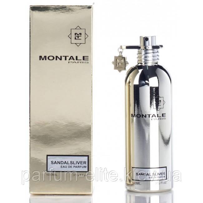 Парфюмированная вода унисекс Montale Sandal Sliver 100ml(test)