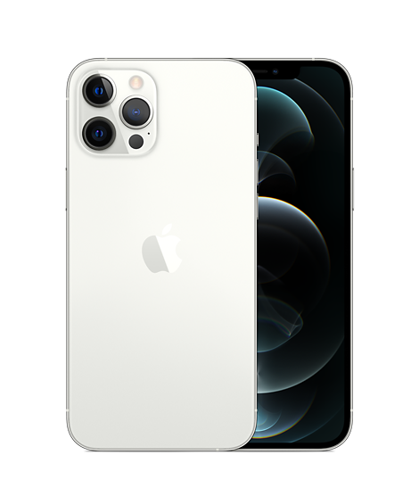 IPhone 12 Pro Max 128GB Dual Sim Silver (MGC13)