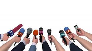 Репортерские микрофоны