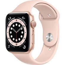 Apple Watch Series 6 GPS 40mm Gold Aluminum Case w. Pink Sand Sport B. (MG123)
