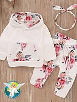 Комплект одежды для девочек осенне-зимняя одежда для детей ясельного возраста от 0 до 24 мес.