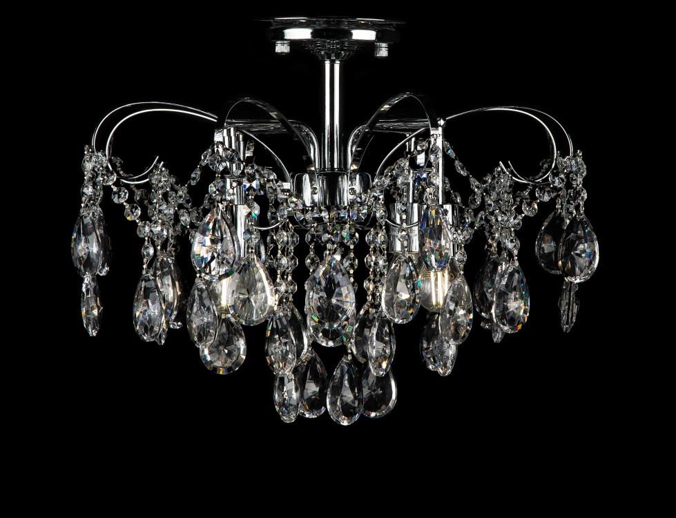 Светильники люстры потолочные в классическом стиле с хрусталем Splendid-Ray 30-3943-17