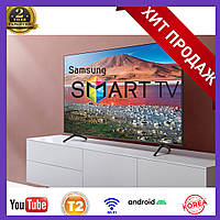 Телевизор Samsung Smart TV Самсунг 4K 34 UHDTV, LED, IPTV, T2, Android 9 Смарт ТВ Android телевизоры