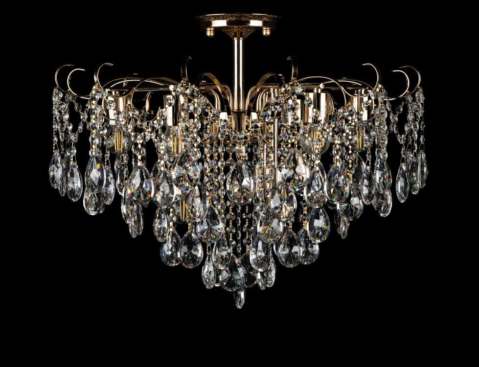 Светильники люстры потолочные в классическом стиле с хрусталем Splendid-Ray 30-3943-00
