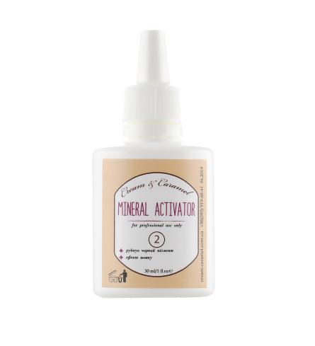 "Cream & Caramel - Mineral Activator №2 - Активатор хны с эффектом ""Шелк"" 30 мл"