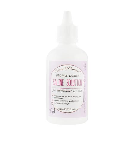 Cream & Caramel - Saline Solution Brow & Lashes - Физиологический раствор 100 мл