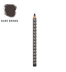 Zola Олівець для брів пудровий - Dark Brown
