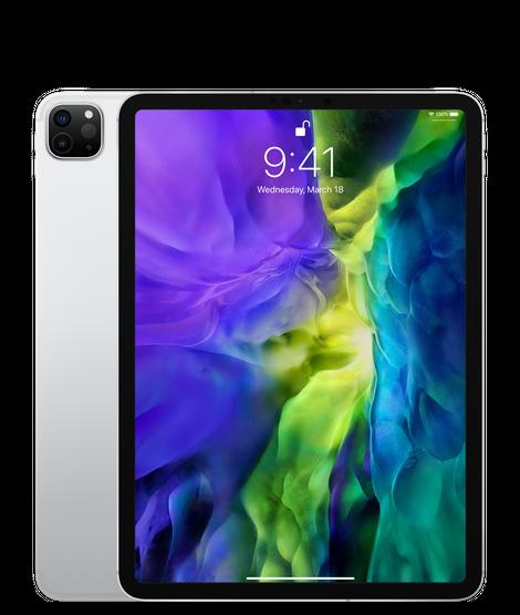 Apple iPad Pro 11 2020 Wi-Fi + Cellular 128GB Silver (MY342, MY2W2)