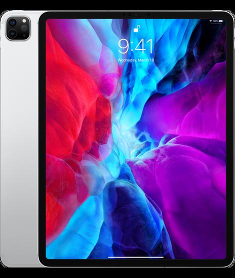 Apple iPad Pro 12.9 2020 Wi-Fi + Cellular 512GB Silver (MXG12, MXF82)