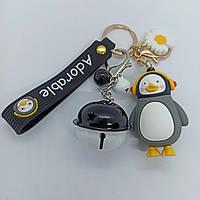 Брелок на рюкзак, ключи Пингвин