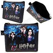 Гаманець Гаррі Поттер на блискавці, яскравий, барвистий, з героями улюбленої фільму Harry Potter
