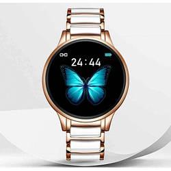 Женские наручные смарт часы Smart Beauty Ceramic Gold
