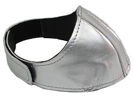 Автопятка кожаная для женской обуви Серебристый (608835-7)