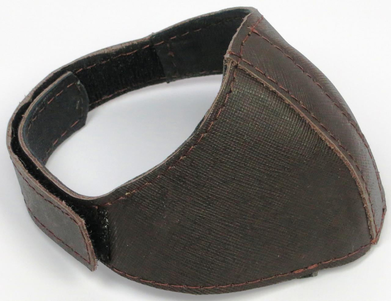 Автопятка шкіряна для жіночого взуття Коричневий (608835-1)