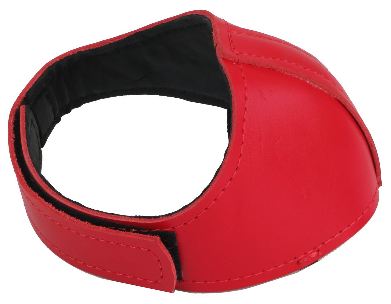 Автопятка шкіряна для жіночого взуття Червоний (608835-12)