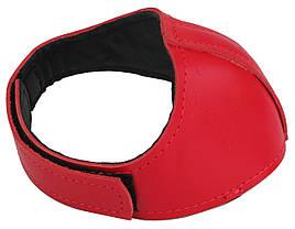 Автопятка кожаная для женской обуви Красный (608835-12)