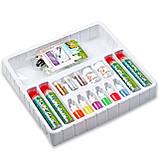 Набір для виготовлення слаймов з барвниками,блискітками і намистинами Подарунковий набір для створення слаймов., фото 3