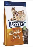 Корм сухой Happy Cat Adult Atlantik Lachs 4 кг для взрослых котов Хеппи Кет Адалт Атлантик с лосо, КОД: