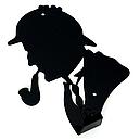 Вішалка настінна Гачок Glozis Holmes H-048 16 х 12 см, фото 3