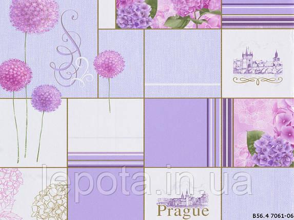 Обои бумажная мойка В56.4 Прага 7061-06, фото 2