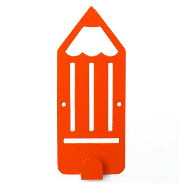 Вешалка настенная Детская Glozis Pencil Orange H-040 16 х 7 см