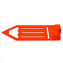 Вешалка настенная Детская Glozis Pencil Orange H-040 16 х 7 см, фото 3