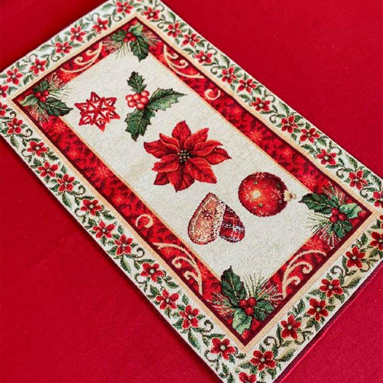Гобеленовая салфетка Рождество