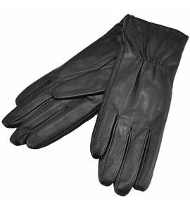 Женские перчатки лучи черные