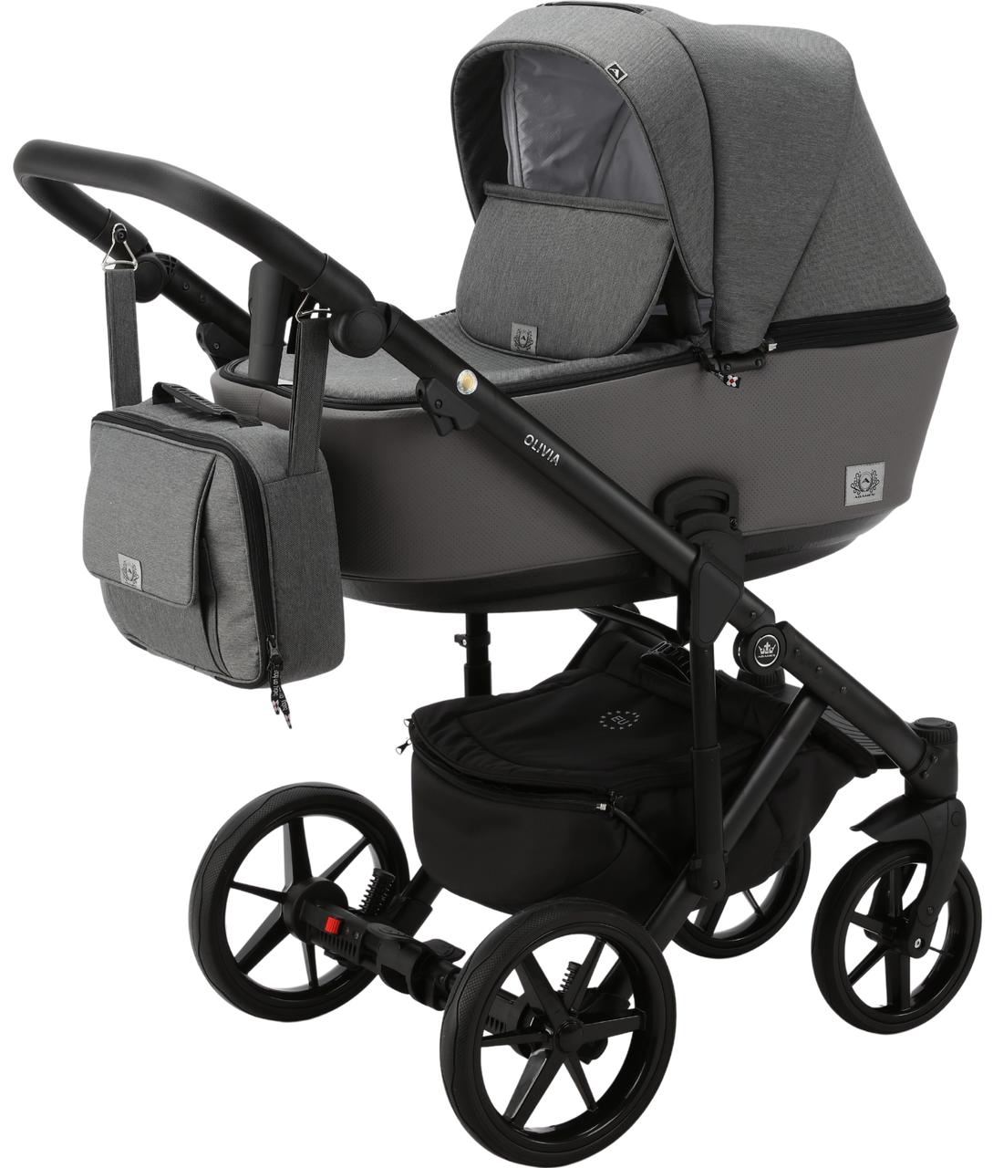 Детская универсальная коляска 2 в 1 Adamex Olivia PS-5